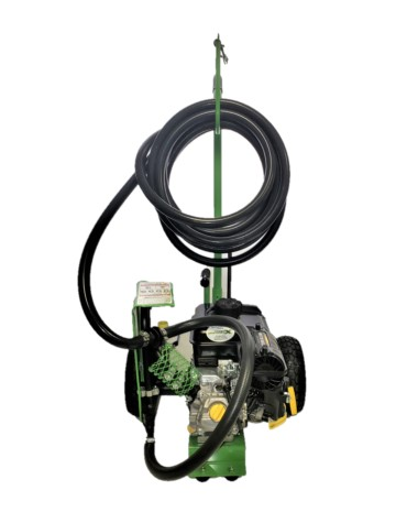 Hose Cradle Handle with 24 ft. Hose