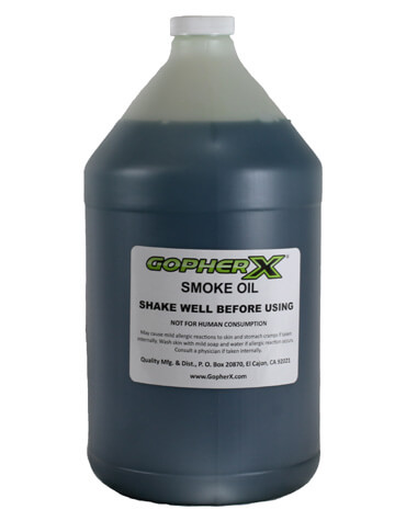 Gopher X Smoke Oil - 1 Gallon