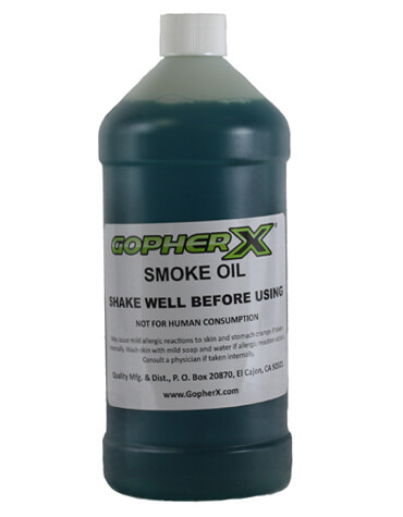 Gopher X Smoke Oil - 1 Quart